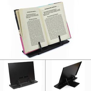 UK Adjustable Brilliant Recipe Book Reading Rest Metal Stand Holder ART shelf