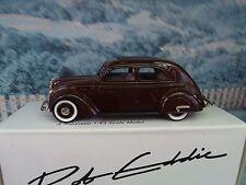 1/43 Brooklin /Rob Eddie models(England)1935 Volvo PV36 catioca #12 white metal