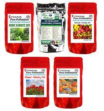 64 Heirloom Non-GMO Vegetable Fruit Tomato Herb Seed Variety Packs Garden Lot