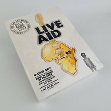 Live Aid (DVD, 2004, 4-Disc Set, Box Set) July 13 1985 Brand New and Sealed