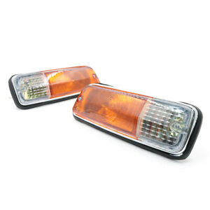 FRONT TURN SIGNAL LIGHTS SET LH/RH NEW  2 PIECES FIT FOR DATSUN TRUCK 521 PICKUP