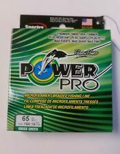 Power Pro  Spectra Braid Fishing Line 65lb TEST  150yd Yard MOSS GREEN