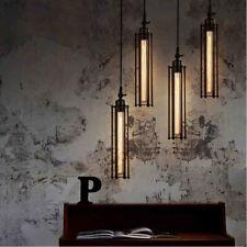 Retro Industrial Metal Pendant Light Steampunk Hanging Ceiling Lamp Fixture