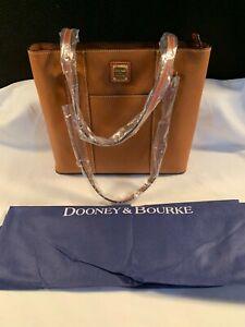 NWT Dooney & Bourke Caramel R342 CA - Small Lexington Shoulder Bag