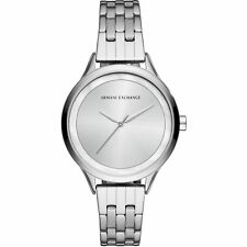 Armani Exchange Women's Classic Stainless Steel Silver Tone Watch AX5600