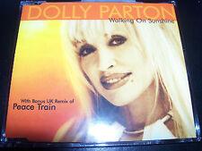 Dolly Parton Walking On Sunshine Rare Australian CD Single  - Like New