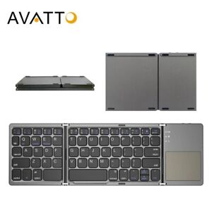 AVATTO Russian/Spanish/Arabic B033 Mini Folding keyboard, Wireless Bluetooth Key