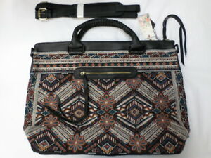 NWT Johnny Was Workshop Molly Jo Overnight Tote Bag - OL46271021