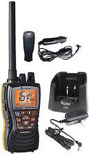 Handheld Floating VHF Radio w/ Bluetooth 6W Black Cobra MRHH500FLT