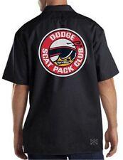 SCAT PACK CLUB Dickies Mechanics Work Shirt ~ Hemi Dodge Challenger Charger