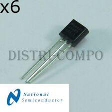LM4040DIZ-4.1 Precision Micropower Shunt 4.096V TO-92 National RoHS (lot de 6)