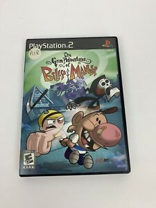 Grim Adventures of Billy & Mandy Sony PlayStation 2, Manual Case Only No Game