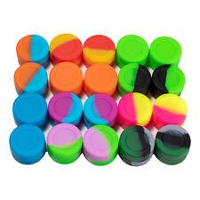 3ml Wax Silicone Container Jar Non-Stick box Mixed Colors