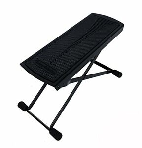 Classical Guitar Foot Stool Stand Rest Pedal Adjustable Folding Guitarist Player