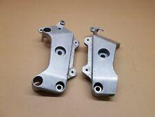 Honda CB600 Hornet Footrest frame mounting brackets plates (Fits 98-03)