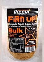 FIRM UP Natural Pumpkin DIGGIN YOUR DOG PET CAT Digestive health 16oz BULK USA