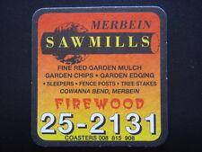 MERBEIN SAWMILLS FIREWOOD 252131 COASTER