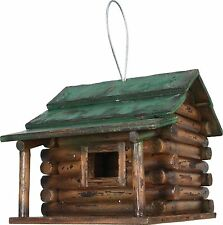 Rivers Edge Products Log Cabin Birdhouse River's Edge New