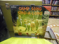 The MARANATHA! Kids Camp Song Sing-A-Long vinyl LP 1988 VG+ in Shrink