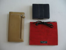 PREOWNED LOT OF A COACH WALLET/KATE SPADE PHOTO ALBUM/ENZO ANGIOLINI WALLET
