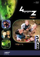 4 gegen Z ( 4><Z) - Kinder-Mystery-Fernsehserie - Staffel 1 auf 2 DVD - NEU OVP
