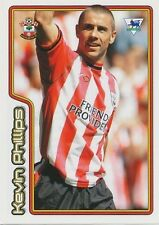 N°495 KEVIN PHILLIPS SOUTHAMPTON.FC STICKER MERLIN PREMIER LEAGUE 2005