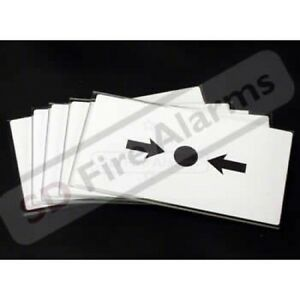 10X KAC Fire Alarm - Call Point - MCP -Break Glass - Replacement Glass Pack KG1