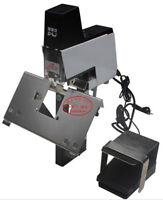 Saddle Stapler Electric Auto Bookbinding Machine Binder Riding Binding Stitcher