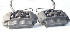 04 10 Porsche Cayenne Rear Brembo Brake Calipers Pair Oem 20767303