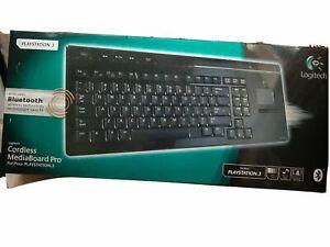 Logitech Cordless Mediaboard Pro Keyboard for Playstation 3
