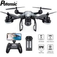 Potensic T18 GPS FPV Drone 1080P HD Camera RC Quadcopter Follow Me Drones