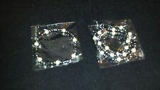 NEW Black/White Black Hematite Magnetic Bracelet/Anklet Necklace Set Free Ship