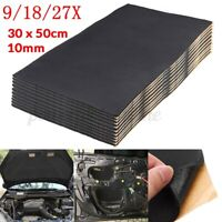 10mm 30cm x 50cm Car Sound Noise Proofing Deadening Insulation Closed Cell  *