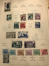 Tunisia Collection Removed From Book     Used   LOT D03161