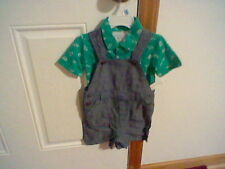 Brand New Infant Boys Size 24 Months Wonderkids Shortall Outfit