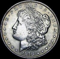 1878 Reverse 1879  Morgan Dollar Silver Rev '79  ---- GEM BU++ Coin ---- #J623