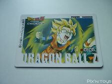 Carte originale Dragon Ball Z PP Card N°1119 / 1994 Made in Japan