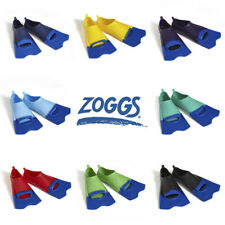 Zoggs Short Blade Swim Fins -  Flippers Swimming Training  Pool Training Aid