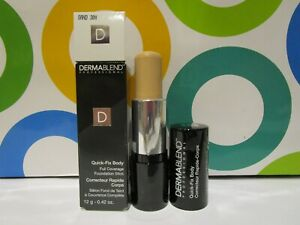DERMABLEND ~ QUICK FIX FULL COVERAGE FOUNDATION STICK ~ # 30 N SAND ~ 0.42 OZ