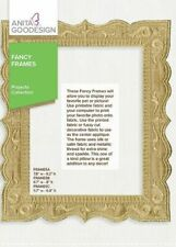 ANITA GOODESIGN FANCY FRAMES - PROJECTS COLL -MACHINE EMBROIDERY DESIGNS USB PES