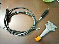 Jcb spare parts Throttle Cable Assy. With Lever Part No. 910/44400 910/34900