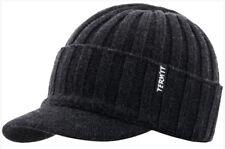 Wool Blend Hat cap Knitted Visor Beanie men's TERMIT Skis snowboard winter NEW