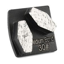 6X Metal Scraper Diamond Grinding Segment Husqvarna Grinder Grit 30 Medium Bond