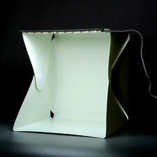 Portable Mini Photo Studio Box Photography Backdrop built-in Light Photo Box ZR