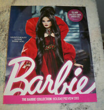 The Barbie Collector Catalog HOLIDAY PREVIEW 2013 Haunted Beauty Vampire cover
