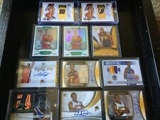 Warriors Auto Patch Rookie 11 Card Lot Chrome Refractor SP Authentic Monta #/ 25