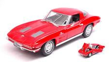 Chevrolet Corvette 1963 Red 1:24-27 Model 24073R WELLY