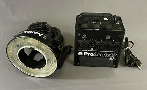 Profoto Pro Acute 12 Alfa Power Pack and Acute 2 Ring Flash Lamphead