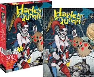 DC Comics Batman Harley Quinn Comic Cover 500piece Jigsaw Puzzle