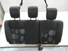 BACK SEATS REAR RENAULT MODUS 1.2 55KW 5P B 5M (2006) REPLACEMENT USED